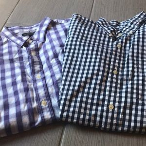 2 Men's dress shirts!